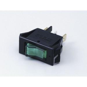 エルパ 照光式スイッチ グリーン HK-PSL01H(G)