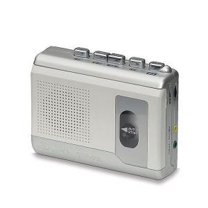 エルパ カセットテープレコーダー 録音・再生 CTR-300...