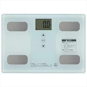 オーム電機 08-0491 体重体組成計(ホワイト ) HB-KG11R1-W|life-studio
