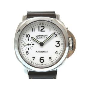 パネライ ルミノール マリーナ 44mm 手巻き 腕時計 P...