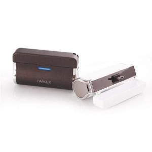 ライフバリュー限定商品!人気のiWALKバッテリーシリーズにスマートフォン用登場!2500mAh大容量バッテリーオシャレなデザインと質感も大好評です★ life-value