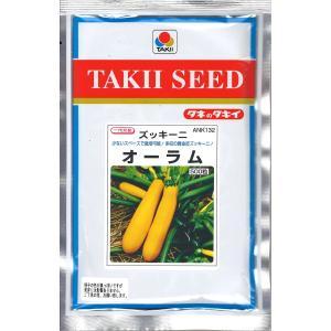 [取り寄せ品] 西洋野菜種子 ズッキーニ オーラム (黄実) 500粒 [タネのタキイ] life-with-green