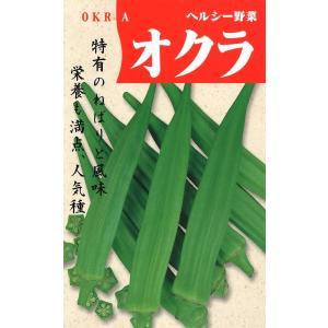 定番野菜種子 ヘルシー野菜 オクラ [春][直売限定][Life with Green]|life-with-green