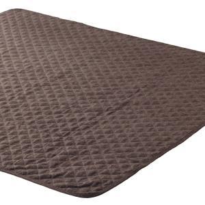 マルチカバー ネップツイード 正方形 190x190cmの写真