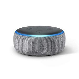 Echo Dot (エコードット)第3世代 - スマートスピーカー with Alexa、ヘザーグレー|lifefusion-shop
