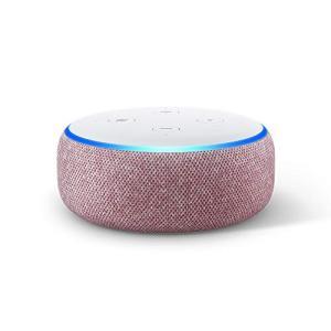Echo Dot (エコードット)第3世代 - スマートスピーカー with Alexa、プラム|lifefusion-shop
