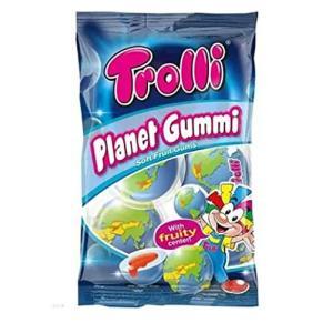 地球グミ 1袋 Trolli PLANET GUMMI 日本語表記 トローリ プラネットグミ   [並行輸入品] lifefusion-shop