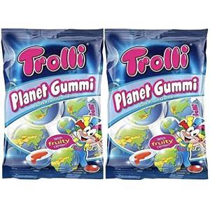 2袋セット Trolli トローリ 地球グミ プラネットグミ(4個入り×2袋)日本語表記[並行輸入品] lifefusion-shop