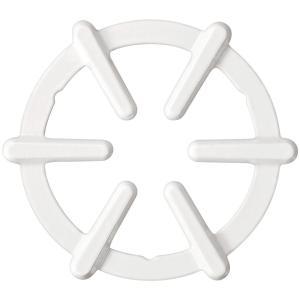 パール金属 フェール 鉄鋳物製鍋敷(ホーロー加工)ホワイト HB-4200|lifeharmony
