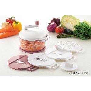 『レリップ』みじん切り器&野菜調理器セット RL-05R|lifeharmony