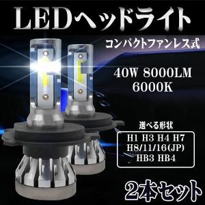 LED ヘッドライト MINI6 H4 H7 H8 H11 H16 HB3 HB4 H1 H3 アメ...