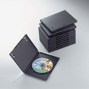 エレコム CCD-DVD03BK DVDトールケース(10枚パック・ブラック) (CCDDVD03BK) lifeis