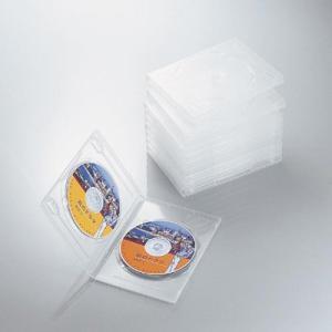 エレコム CCD-DVD06CR DVDトールケース 両面収納(10枚パック・クリア) (CCDDVD06CR) lifeis