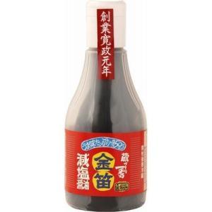 笛木醤油 4977229200046 笛木醤油 金笛減塩醤油ボトル 200mL|lifeis