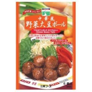 三育フーズ 4974434200465 三育フーズ 中華風野菜大豆ボール 6コ入|lifeis