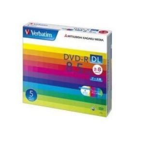 【納期目安:約10営業日】三菱化学メディア DHR85HP5V1 データ用DVD-R DL 片面2層 8.5GB 2-8倍速対応 5枚