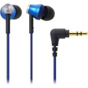 ●オーディオテクニカ ATH-CK330M-BL インナーイヤーヘッドホン ブルー