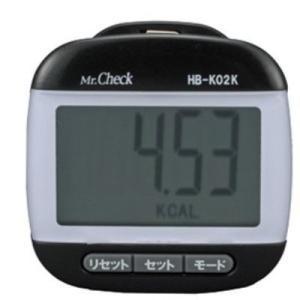 オーム電機 HB-K02K デカ表示 歩数計 (HBK02K)