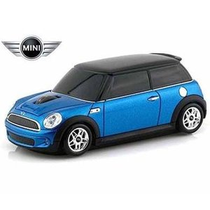 LANDMICE MINI-COPS-BL ミニ クーパー 無線マウス 2.4G ブルー (MINICOPSBL)|lifeis