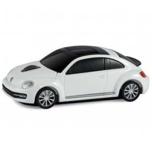 LANDMICE VW-BEETLE-WH フォルクスワーゲン ビートル 無線マウス 2.4G ホワイト (VWBEETLEWH)|lifeis