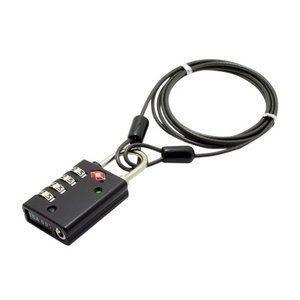 ds-1249942 ミヨシ TSAロック インジケータ機能付き4ダイヤルタイプ MBZ-TI4/BK (ds1249942) lifeis