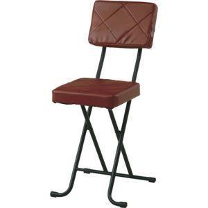 ds-980050 折りたたみ椅子/フォールディングチェアー 【キルト】 BR KIRTO BR ブラウン (N) (ds980050)|lifeis