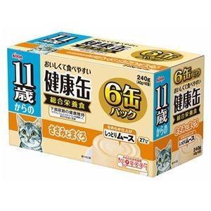 ds-1626788 (まとめ)アイシア 11歳からの健康缶ささみとまぐろ40g×6P 【猫用・フード】【ペット用品】【×12セット】 (ds1626788)|lifeis