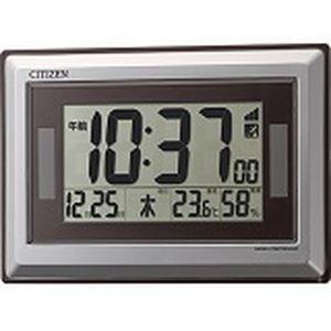 リズム時計 8RZ182-019 ソーラー電源電...の商品画像