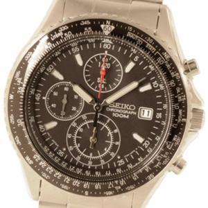 SEIKO セイコー SESND253P1 海外モデル パイロットクロノ SND253P1 メンズ腕時計 ブラック セイコーウオッチ lifeis
