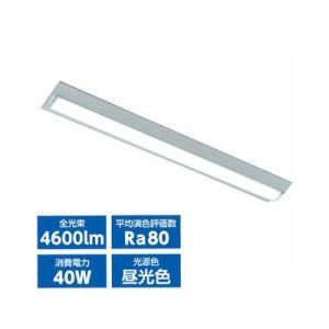 オーム電機 LT-B4000C2-D LEDベースライト40W2灯相当(昼光色) (LTB4000C2D)|lifeis