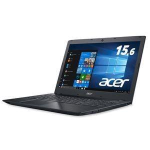ds-2020319 Acer Aspire E 15 E5-576-F58U/K (Core i5-7200U/8GB/256GBSSD/DVD±R/RWドライブ/15.6型/オブシディアンブラック) E5-576-F58U/K|lifeis