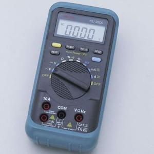 ELPA KU-2600 デジタルマルチテスター (KU2600)|lifeis