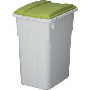 トラスコ中山 865 TONBO 連結カラー分別ペール33型 グリーン lifeis