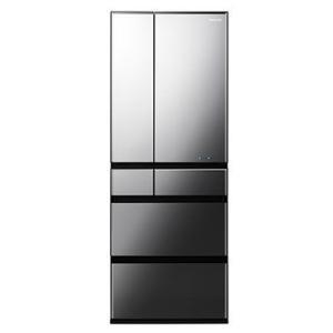 パナソニック NR-F604WPX-X 大容量600L6ドアフレンチドアパーシャル搭載冷蔵庫 (オブシディアンミラー)|lifeis