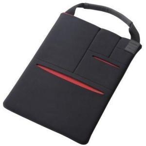 エレコム TB-10CELLBK タブレット汎用バッグインバッグ/マルチポケット/8.5~10.5インチ/ブラック (TB10CELLBK)|lifeis