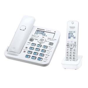 パナソニック VE-GD56DL-W RU・RU・RU コードレス電話機 (子機1台付き) (ホワイト) (VEGD56DLW)|lifeis