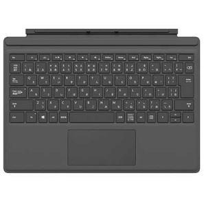 【納期目安:2週間】マイクロソフト FMM-00019 Surface Pro タイプ カバー ・バックライト搭載 ・拡張ガラス製タッチパッド ・マグネット着脱|lifeis