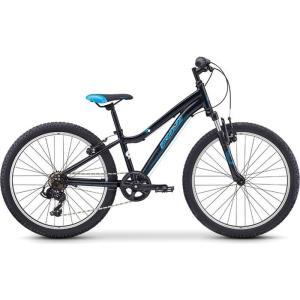 【納期目安:追って連絡】FUJI 19DY24BK24 2019年モデル ダイナマイト(DYNAMITE 24) 24インチ 7段変速 BLACK/BLUE 子供用自転車|lifeis