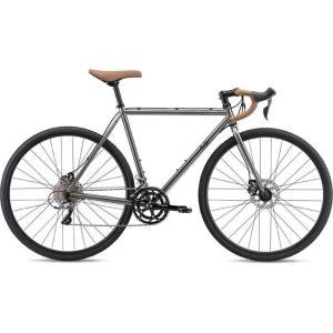 FUJI 19FEACGY52 2019年モデル フェザー シーエックス プラス(FEATHER CX+) 52cm 2x8段変速 SLATE ディスクブレーキ ロードバイク|lifeis