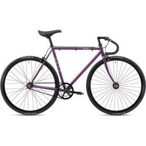 【納期目安:追って連絡】FUJI 19FETRPR56 2019年モデル フェザー(FEATHER ) 56cm シングルスピード MATTE PURPLE ピストバイク|lifeis