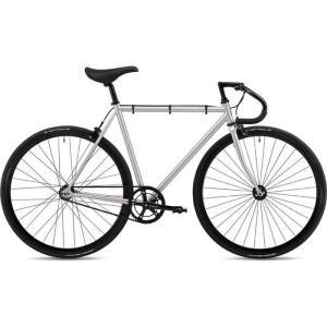 【納期目安:追って連絡】FUJI 19FETRSV54 2019年モデル フェザー(FEATHER ) 54cm シングルスピード MATTE SILVER ピストバイク|lifeis