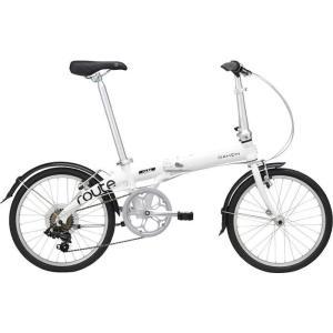 DAHON(ダホン) 19ROUTWH00 2019年モデル ルート(Route) 7段変速 クラウドホワイト 折りたたみ自転車|lifeis