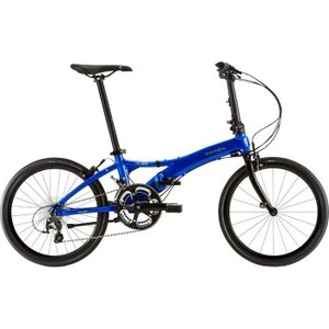 DAHON(ダホン) 19VISCBL00 2019年モデル ヴィスク エヴォ(Visc EVO) 2x10段変速 エナメルブルー 折りたたみ自転車|lifeis