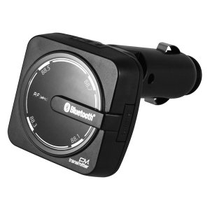 カシムラ KD-186 Bluetooth FMトランスミッター レインボーイルミ USB1ポート 2.4A (KD186)|lifeis