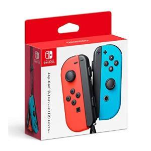 任天堂 4902370536034 Switch用 Joy-Con(L) ネオンレッド/(R) ネオンブルー|lifeis