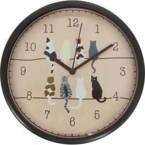 【納期目安:1週間】4571483994248 ツイン JT014 掛け時計 置き時計 ネコ J lifeis