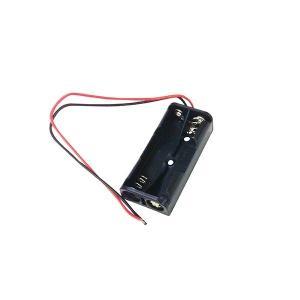 オーム電機 KIT-UM42 工作・ホビー用 電池ケース(単4×2個用) (KITUM42)|lifeis
