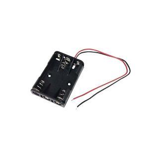 オーム電機 KIT-UM43 工作・ホビー用 電池ケース(単4×3個用) (KITUM43)|lifeis