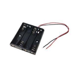オーム電機 KIT-UM44 工作・ホビー用 電池ケース(単4×4個用) (KITUM44)|lifeis