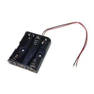 オーム電機 KIT-UM33 工作・ホビー用 電池ケース(単3×3個用) (KITUM33)|lifeis